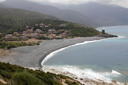 Pół p7project na Korsyce